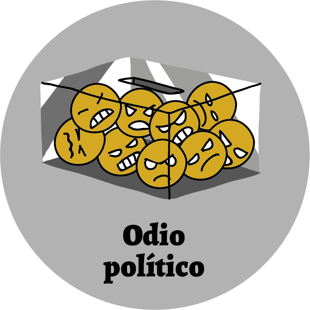 Panóptico 15-Odio político-Portada